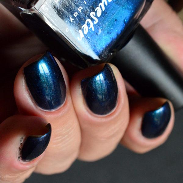 Lacquester - Darkest Days Blue Diamonds