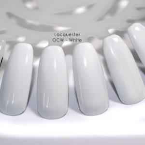 Lacquester - OCW White
